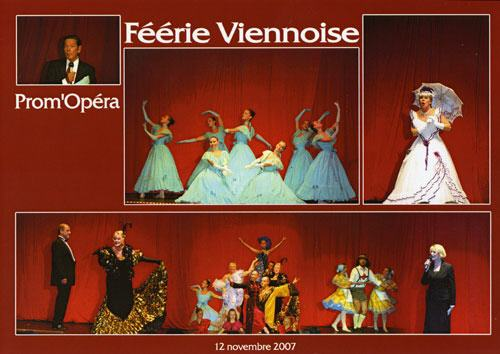 Prom'Op�ra Toulon Affiche Feerie-Viennoise 2007