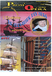 Prom'Opera Affiches Le chevalier des mers 2010